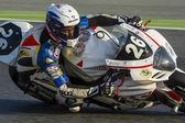 Team Moto Club de Gemenos Racing. 24 hours endurance Catalunya — Stock Photo