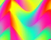 Colorful, abstract background with wave pattern. Rainbow color wallpaper. — Stock Photo