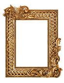 Gyllene antik ram — Stockfoto