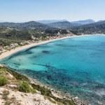 Agios Georgios beach, island Corfu, Greece — Stock Photo #72397165