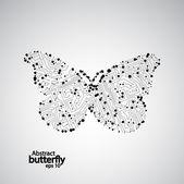 Circuit board butterfly eps 10 — 图库矢量图片