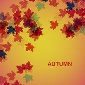 Autumn seasonal background — Stock Vector