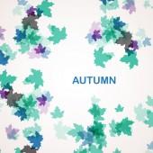 Fondo temporada otoño — Vector de stock