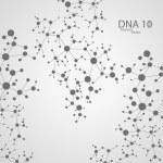 Futuristic dna eps 10 — Stock Vector #66010135