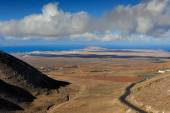 View from Femes, Lanzarote Island, Canary Islands, Spain — Stock Photo
