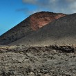 Volcanic mountains at Lanzarote Island, Canary Islands, Spain — Stock Photo #66861105
