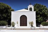 Church of Nuestra Senora del Carmen, Arrieta, Lanzarote Island,  — Stock Photo