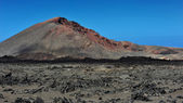 火山山在兰萨罗特岛岛,加那利群岛,西班牙 — 图库照片