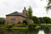 Stary zamek w Niemcy, odkryty, t — Zdjęcie stockowe