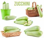 Zucchini isolated  — Stock Photo