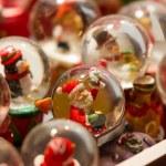 Christmas snow globes — Stock Photo #52922465