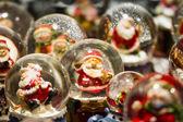 Santa and his friends — Stock Photo