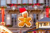 Giant Gingerbread Man — Stock Photo