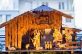Little Nativity Scene — Stock Photo