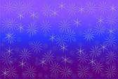 Фон из снежинок — Cтоковый вектор