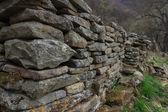 Dilapidated ancient masonry — Stock Photo
