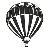 Air Balloon vector art — Stock vektor