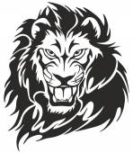 Lion Vector Art — Stock Vector
