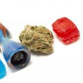 Marijuana THC Candy — Stock Photo