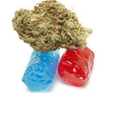 Marihuana-Thc-Candy — Stockfoto
