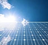 Solar panel — 图库照片