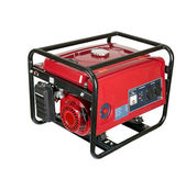 Portable gasoline generator. isolated on a white background. — Stockfoto