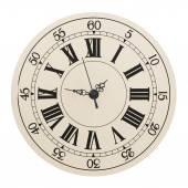 Horloge murale avec chiffres romains — Photo