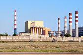 Fast-neutron reactor. BN-350, constructed by the Soviet Union in Shevchenko (today's Aktau) on the Caspian Sea. desalination of sea water. Kazakhstan — Stock Photo