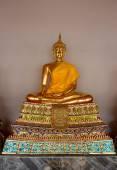 Thai Buddha Golden Statue Buddha Statue in Thailand — Stock Photo