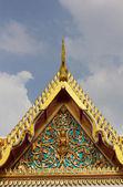 Buddhist church in Thailand — Stock Photo