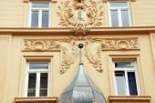 Art Nouveau on a house facade - Detail — Stock Photo