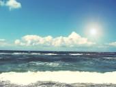 Sea with sky — Foto Stock