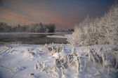 Winter in Karelia — Stock Photo