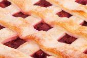 вишневый пирог — Стоковое фото