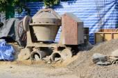 Misturador concreto — Fotografia Stock