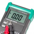 Isolated digital multimeter and probes — Stock Photo #72922915