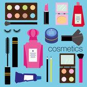 Make up set. — Stock Vector