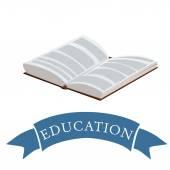 Book logo — Stock Vector