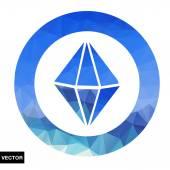 Abstract geometric logo. — Stock Vector