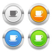 Cup icons — Stock Vector