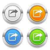 Copy icons — Stock Vector