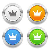 Crone icons — Stock Vector