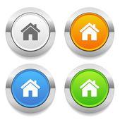 ícones de casa — Vetorial Stock