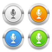 On air icons — Stock Vector