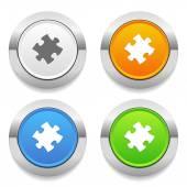 ícones de quebra-cabeça — Vetorial Stock