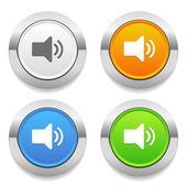 Speaker icons — Stock Vector
