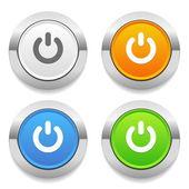 Start icons — Stock Vector