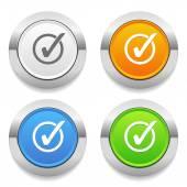 Check-mark icons — Stock Vector