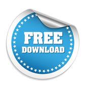 Téléchargement gratuit autocollant — Vecteur