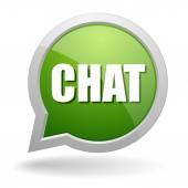 Chat speech bubble — Stock Vector